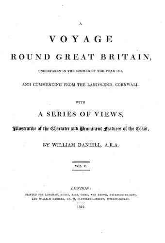 English - A Voyage Round Great Britain Vol. 5