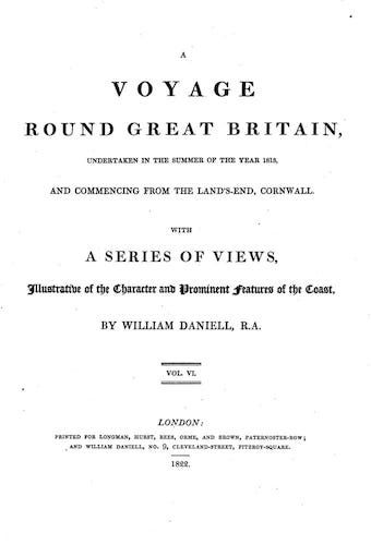 English - A Voyage Round Great Britain Vol. 6