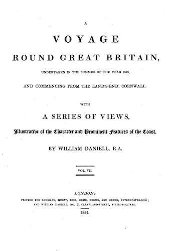 Aquatint & Lithography - A Voyage Round Great Britain Vol. 7