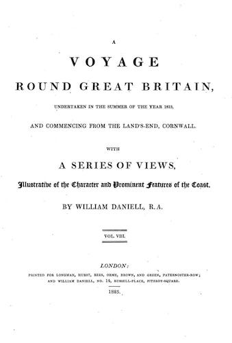 Aquatint & Lithography - A Voyage Round Great Britain Vol. 8