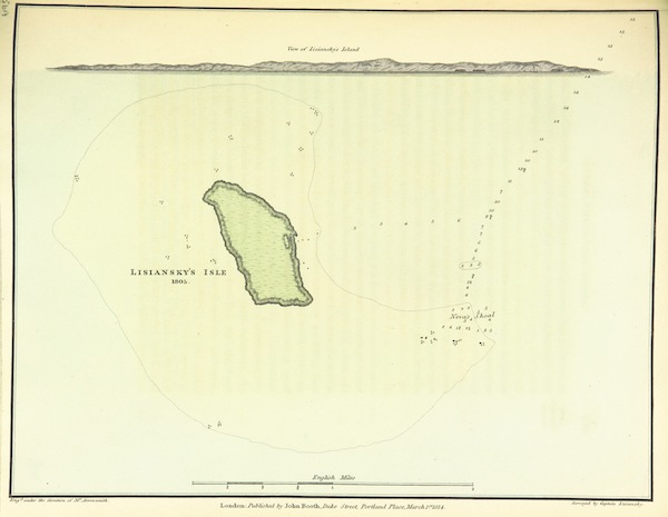 A Voyage Round the World - Lisiansky's Isle - 1805 (1814)