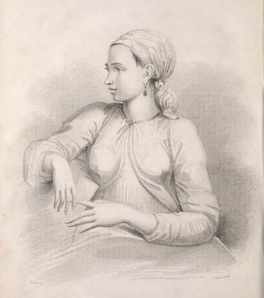 A Voyage to Abyssinia - An Abyssinian Slave Girl (1814)
