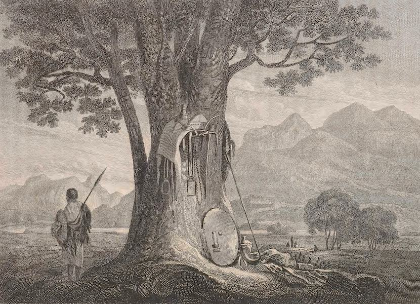 A Voyage to Abyssinia - View in the Neighbourhood of the River Tacazze (1814)