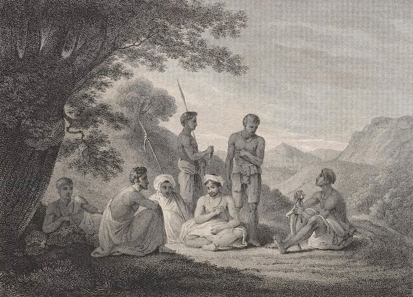 A Voyage to Abyssinia - Abyssinians Reposing (1814)