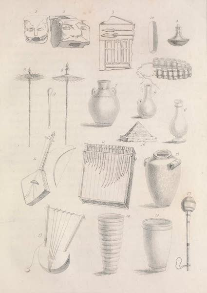 A Voyage to Abyssinia - Assorted Figures (1814)