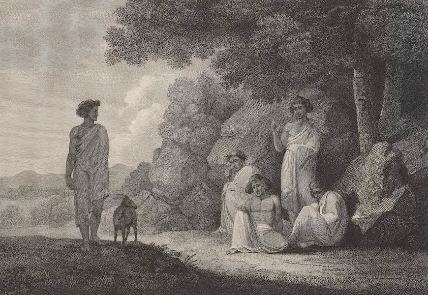 A Voyage to Abyssinia - A Group of the Torah Shiho (1814)