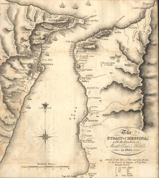 A Voyage to Cadiz and Gibraltar Vol. 1 - The Strait of Messina (1815)
