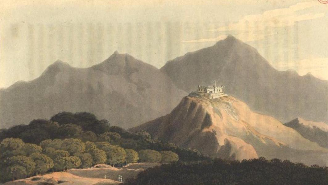 A Voyage to Cadiz and Gibraltar Vol. 1 - Fort Gonzago, and Country behind Messina (1815)