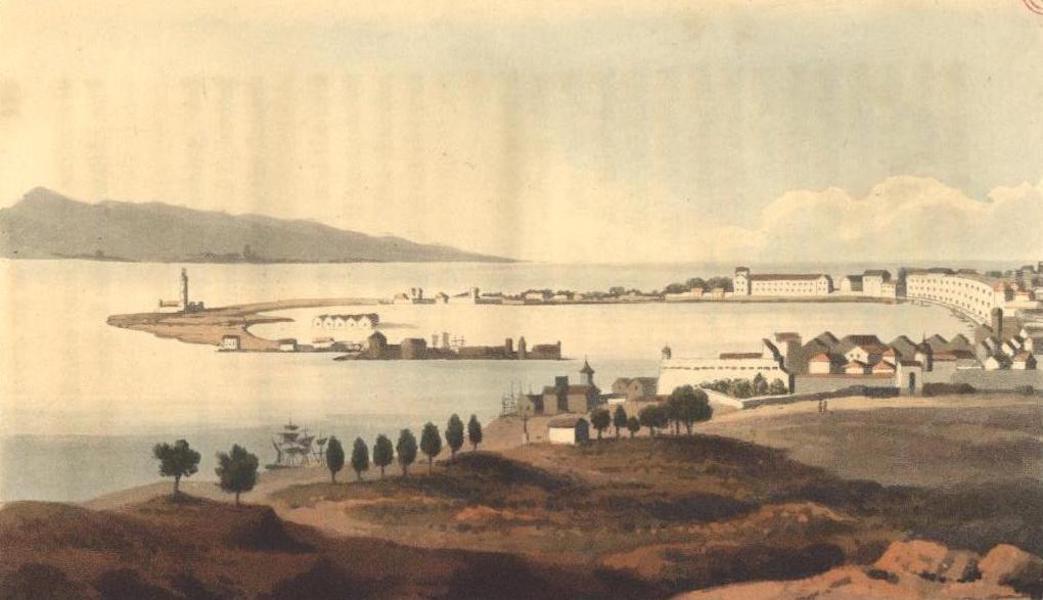 A Voyage to Cadiz and Gibraltar Vol. 1 - Messina (1815)