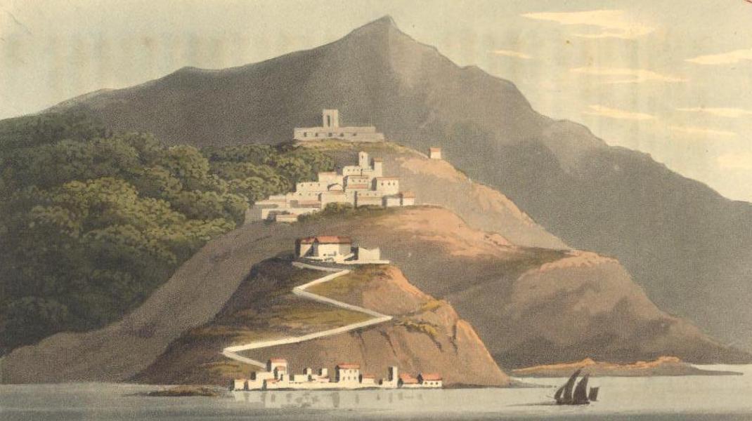 A Voyage to Cadiz and Gibraltar Vol. 1 - Scaletta (1815)