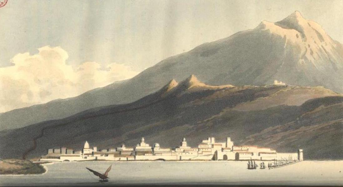 A Voyage to Cadiz and Gibraltar Vol. 1 - Catania & Mount Etna (1815)