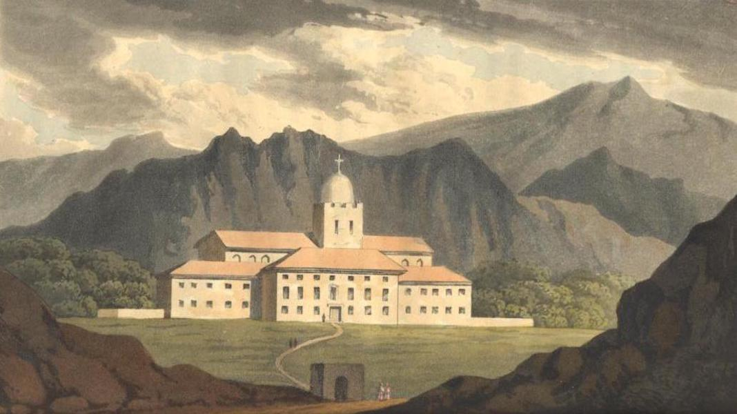 A Voyage to Cadiz and Gibraltar Vol. 1 - Convent of St. Martin near Palermo (1815)