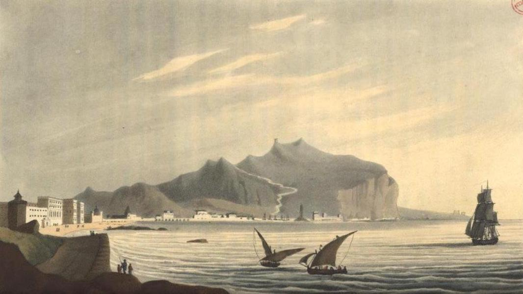 A Voyage to Cadiz and Gibraltar Vol. 2 - Monte Pellegrino, Palermo (1815)