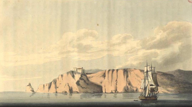 A Voyage to Cadiz and Gibraltar Vol. 2 - Cape St. Vincent (1815)