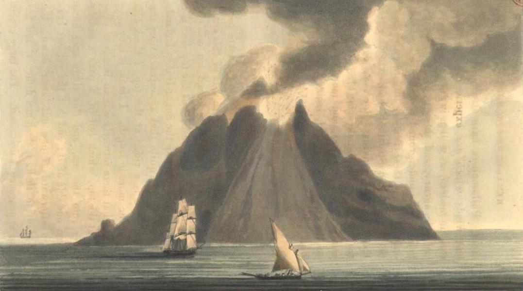 A Voyage to Cadiz and Gibraltar Vol. 2 - Stromboli (1815)