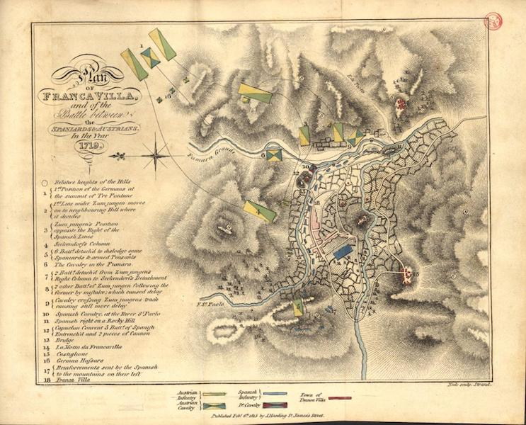 A Voyage to Cadiz and Gibraltar Vol. 2 - Franca Villa and the Battle between the Spaniards and the Austrians in 1719 (1815)
