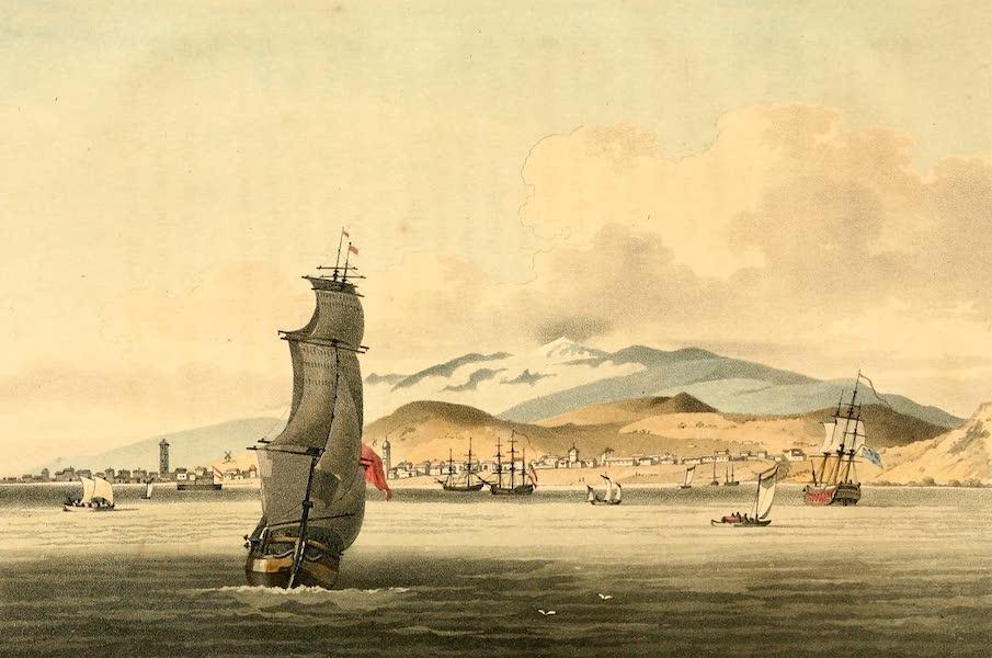 A Voyage to Cochinchina - View of Santa Cruz (1806)