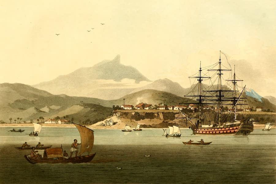 A Voyage to Cochinchina - Porto Praya in the Island of St. Jago (1806)