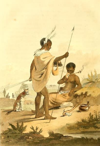 A Voyage to Cochinchina - Bushooana Man and Woman (1806)