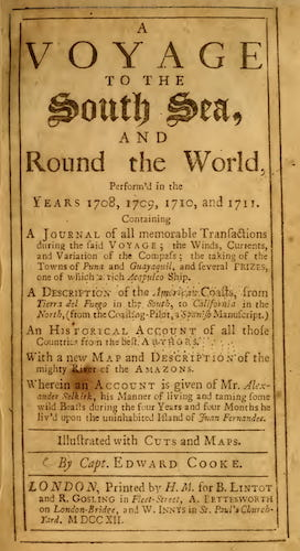 English - A Voyage to the South Sea, and Round the World Vol. 1