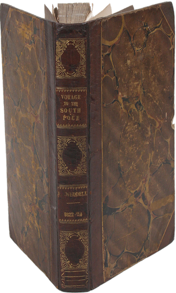 A Voyage Towards the South Pole - Book Display (1827)