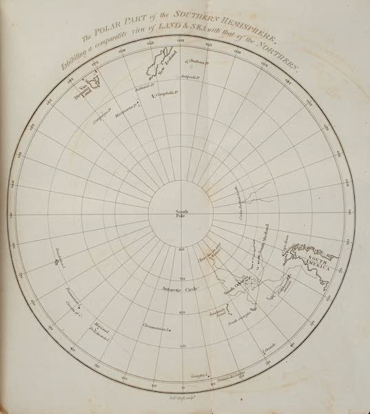 A Voyage Towards the South Pole - The Polar Part of the Southern Hemisphere (1827)