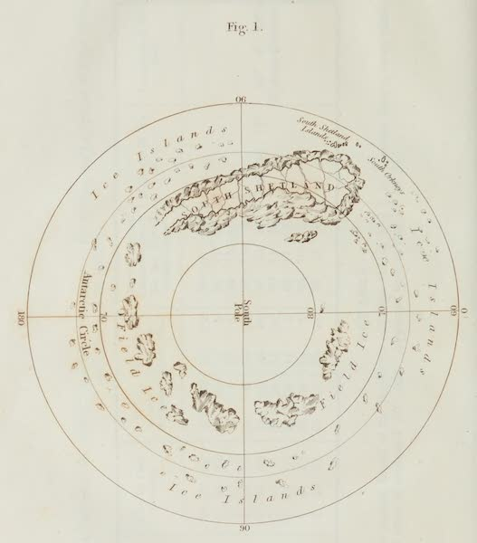 A Voyage Towards the South Pole - Figure 1 (1827)