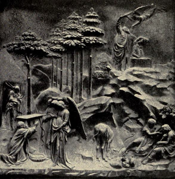 A Wanderer in Florence - Abraham and Isaac. Ghiberti, from his second Baptistery Doors (1912)
