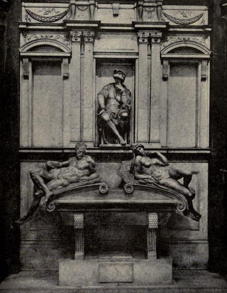 A Wanderer in Florence - Tomb of Lorenzo de' Medici, Duke of Urbino. Michelangelo, in the New Sacristy of S. Lorenzo (1912)