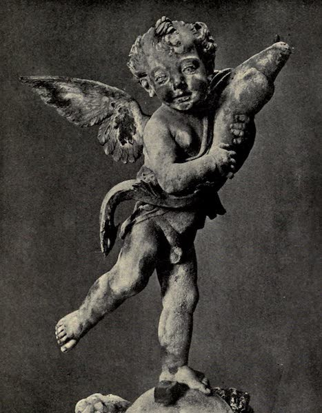 A Wanderer in Florence - Putto with Dolphin. Verrocchio, in the Palazzo Vecchio (1912)