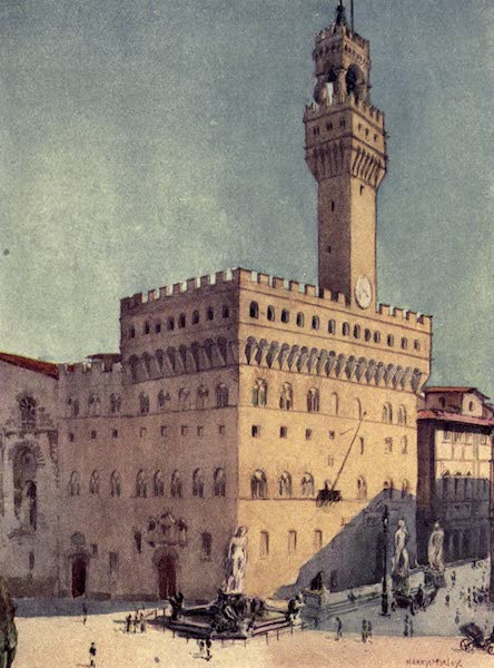 A Wanderer in Florence - The Palazzo Vecchio (1912)