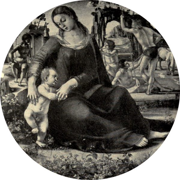 A Wanderer in Florence - Madonna and Child. Luca Signorelli, in the Uffizi (1912)