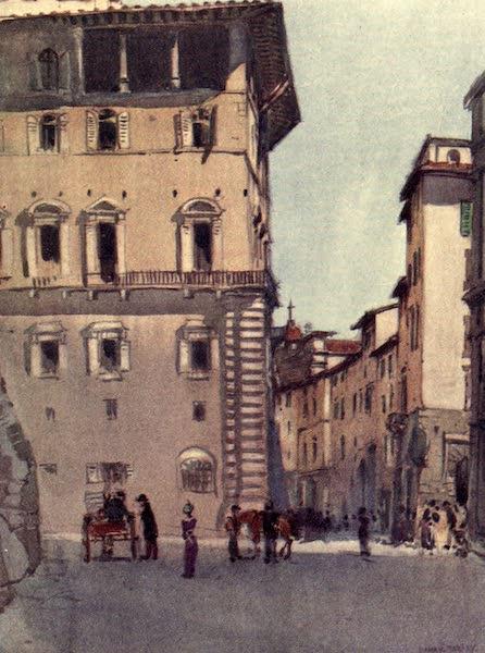 A Wanderer in Florence - The Loggia of the Palazzo Vecchio and the Via de' Leoni (1912)