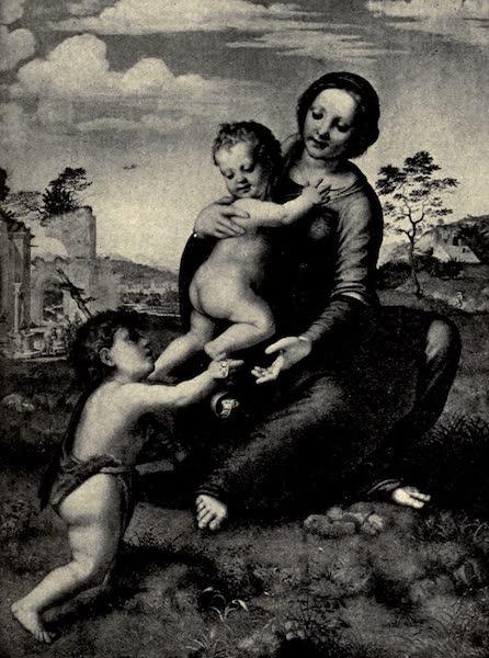 A Wanderer in Florence - The Madonna del Pozzo. Franciabigio, in the Uffizi (1912)