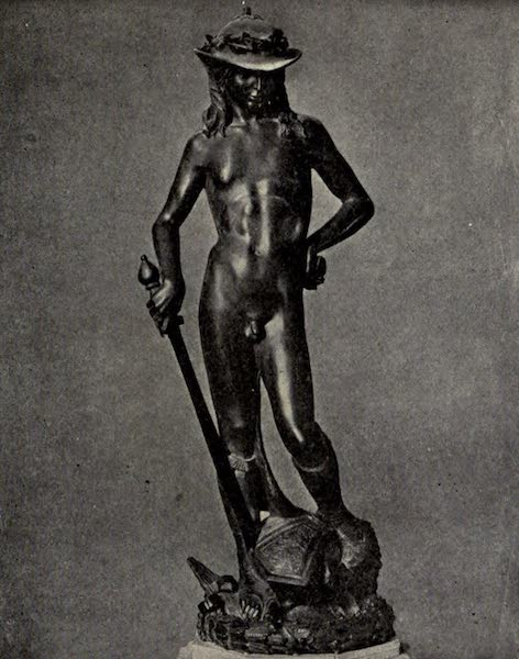A Wanderer in Florence - David by Donatello, in the Bargello (1912)