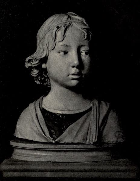 A Wanderer in Florence - Bust of a Boy. Luca or Andrea della Robbia, in the Bargello (1912)
