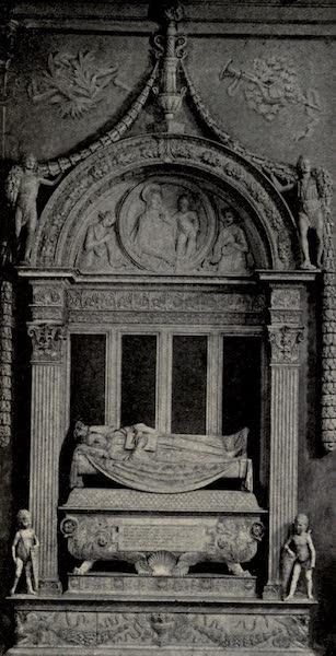 A Wanderer in Florence - Monument to Carlo Marzuppini. Desiderio da Settignano, in S. Croce (1912)