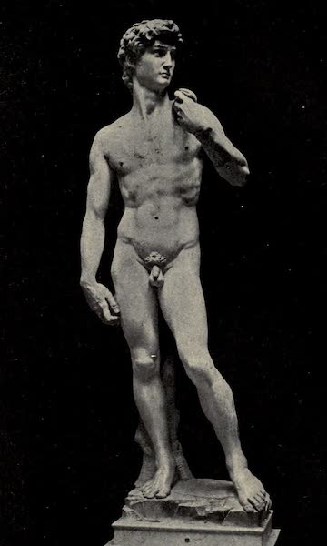 A Wanderer in Florence - David. Michelangelo, in the Accademia (1912)