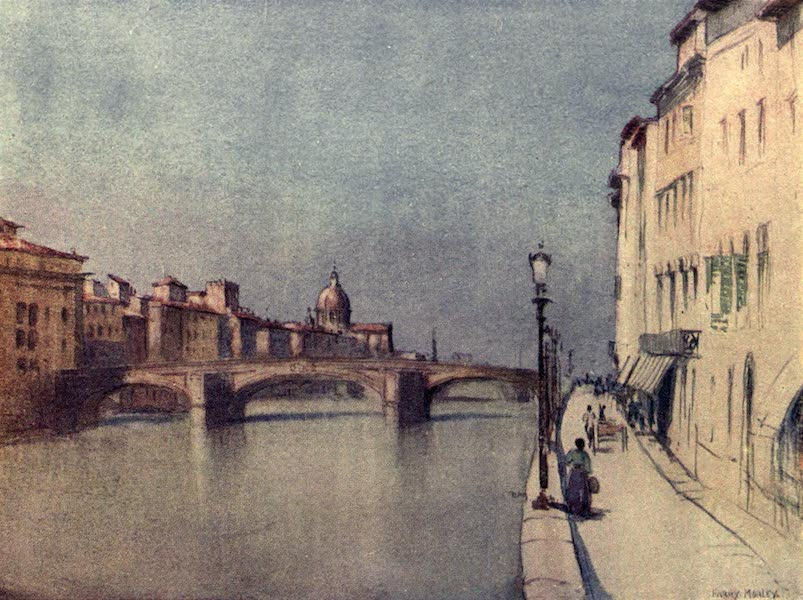 A Wanderer in Florence - The Ponte S. Trinità (1912)
