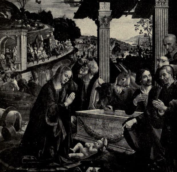 A Wanderer in Florence - The Adoration of the Shepherds. By Ghirlandaio, in the Accademia (1912)