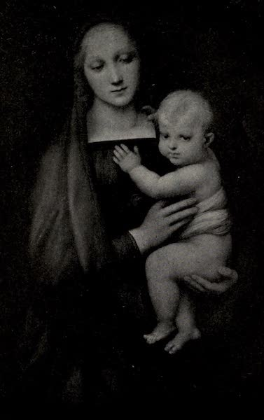 A Wanderer in Florence - The Madonna del Granduca. Raphael, in the Pitti (1912)