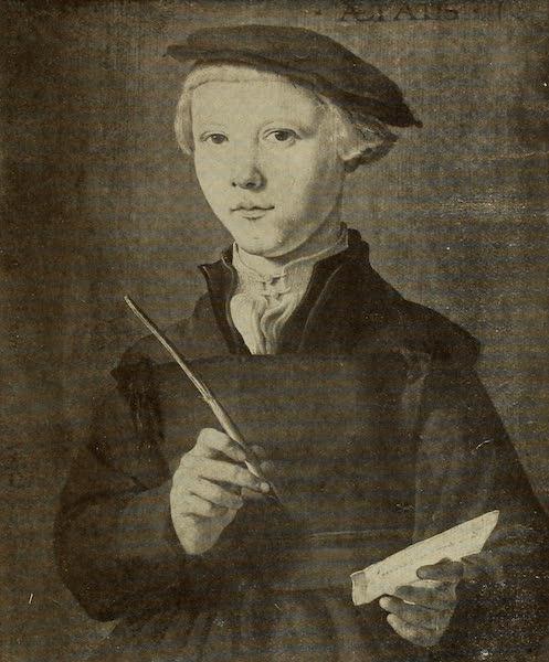 A Wanderer in Holland - Portrait of a Youth. Jan van Scorel (Boymans Museum, Rotterdam) (1905)