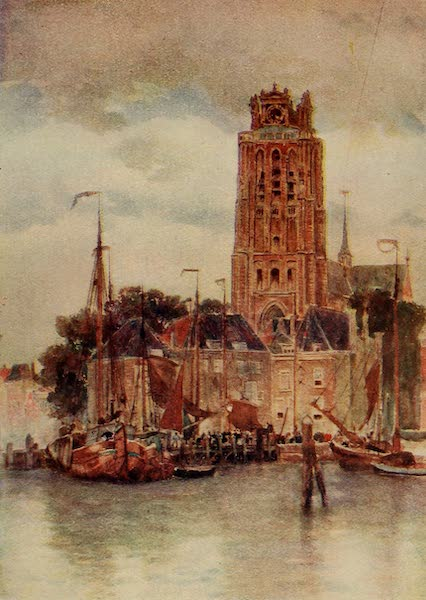 A Wanderer in Holland - The Great Church, Dort (1905)