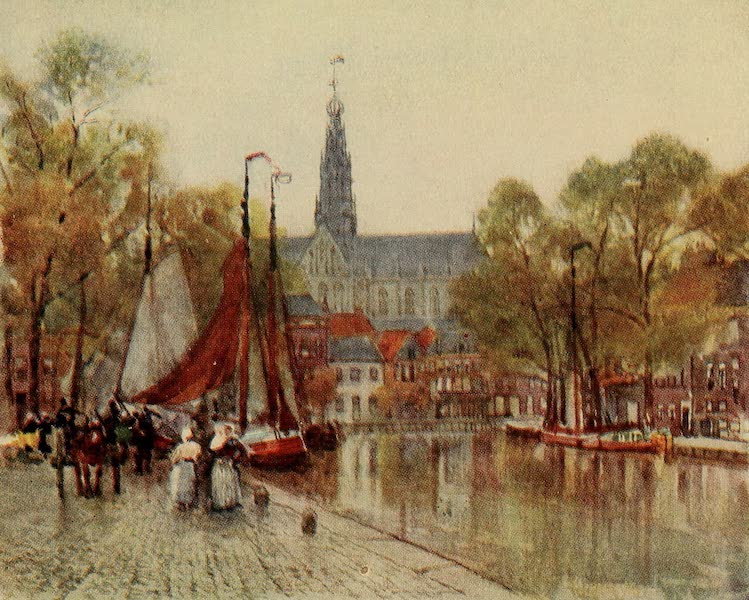 A Wanderer in Holland - The Turf Market, Haarlem (1905)