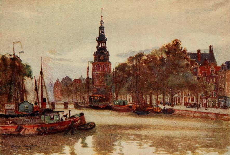 A Wanderer in Holland - Canal in the Jews' Quarter, Amsterdam (1905)