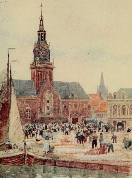 A Wanderer in Holland - Cheese Market, Alkmaar (1905)