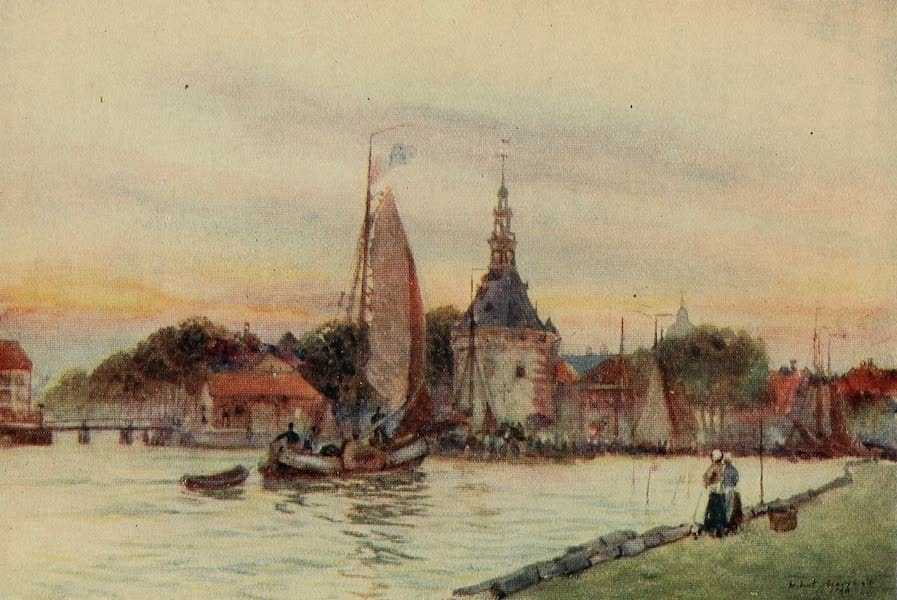 A Wanderer in Holland - The Harbour Tower, Hoorn (1905)