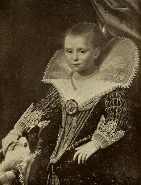 A Wanderer in Holland - The Little Princess. Paulus Moreelse (Ryks) From a Photograph by Franz Hanfstaengl (1905)