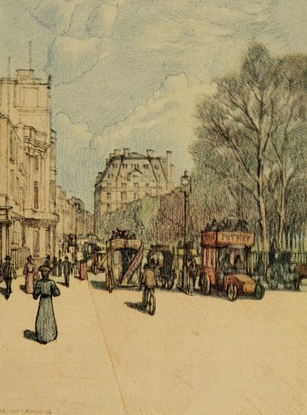 A Wanderer in London - Piccadilly looking West (1906)