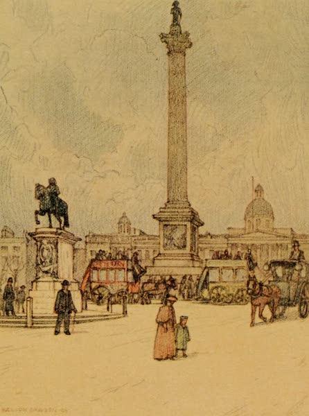 A Wanderer in London - Trafalgar Square (1906)